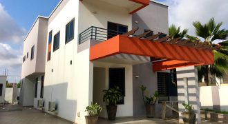 FURNISHED 4 BEDROOM HOUSE FOR RENT IN EAST LEGON ADJIRINGANOR
