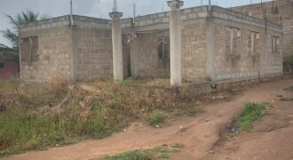 UNCOMPLETED 2 STORY, 3 BEDROOM HOUSE FOR SALE IN KASOA