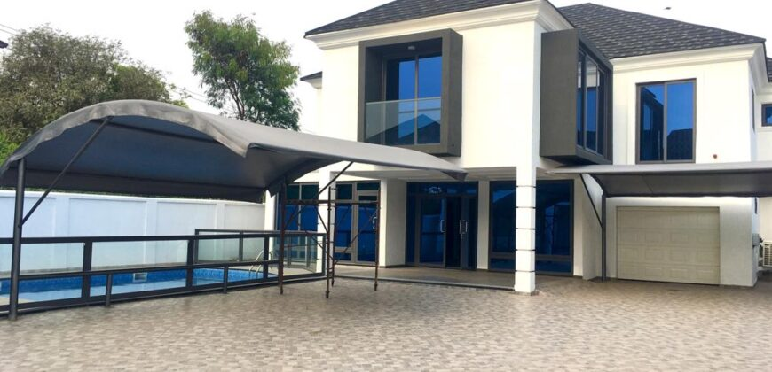 6 BEDROOM SELF-COMPOUND HOUSE FOR RENT IN AIRPORT