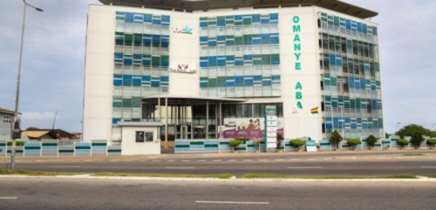 OFFICE SPACE FOR RENT IN ACCRA, OMANYE ABA