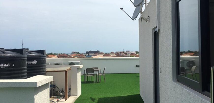 FURNISHED 2 BEDROOM APARTMENT IN CANTONMENTS FOR RENT